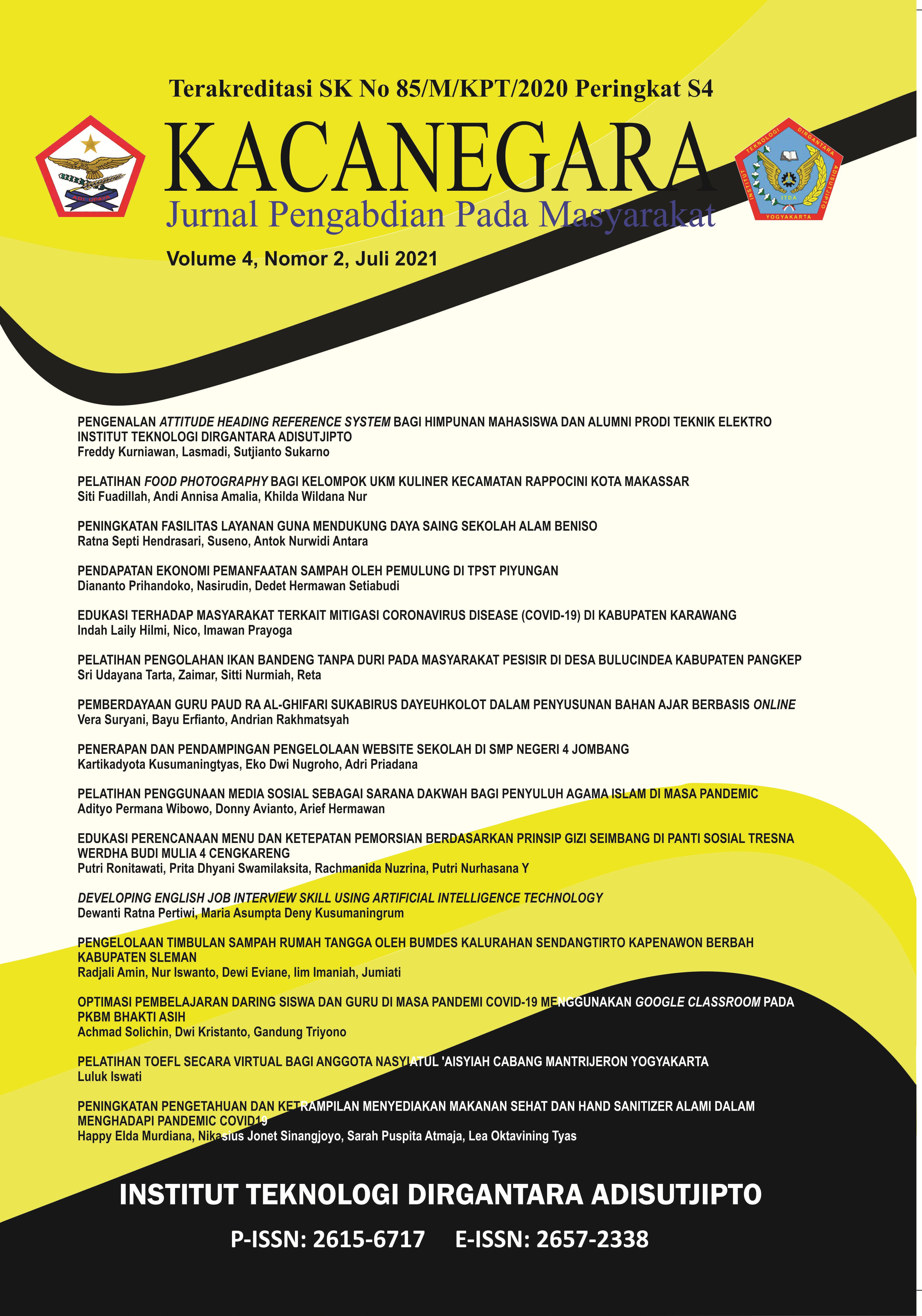 Jurnal Kacanegara Juli 2021