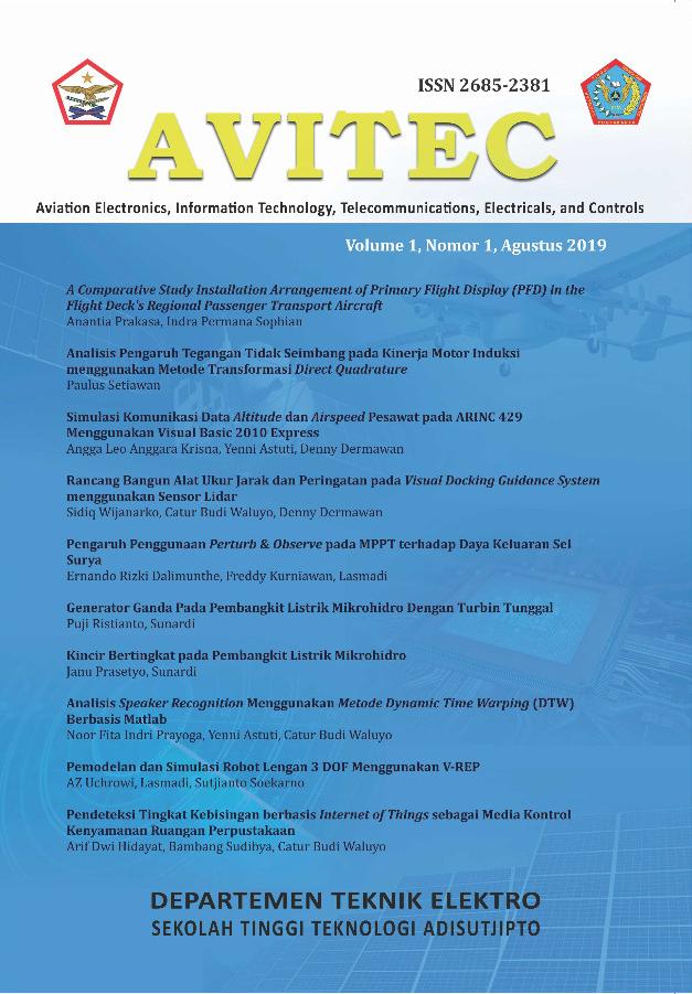 Cover Jurnal Avitec Vol 1 No 1 2019